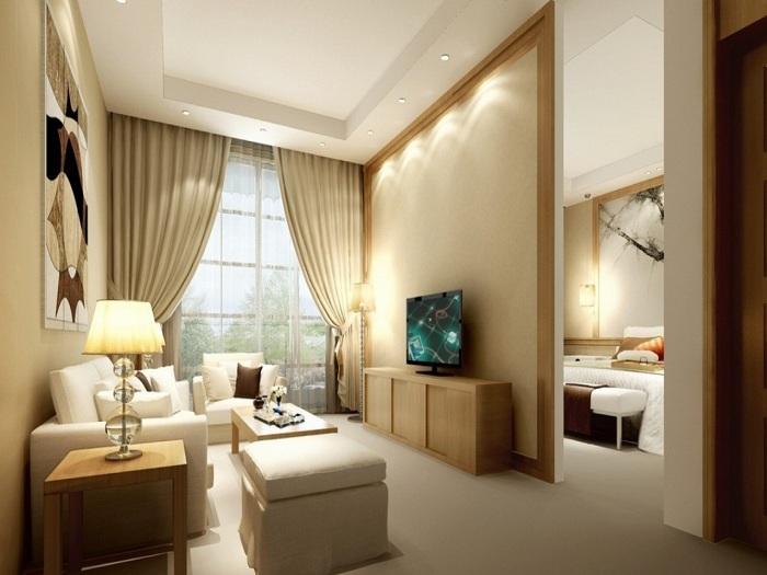 Отличный и удивительный интерьер, что станет лучшим вариантом оформления гостиной.