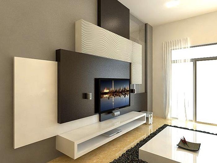 Оформление комнаты в классических тонах, что создаст ультра комфортную обстановку.