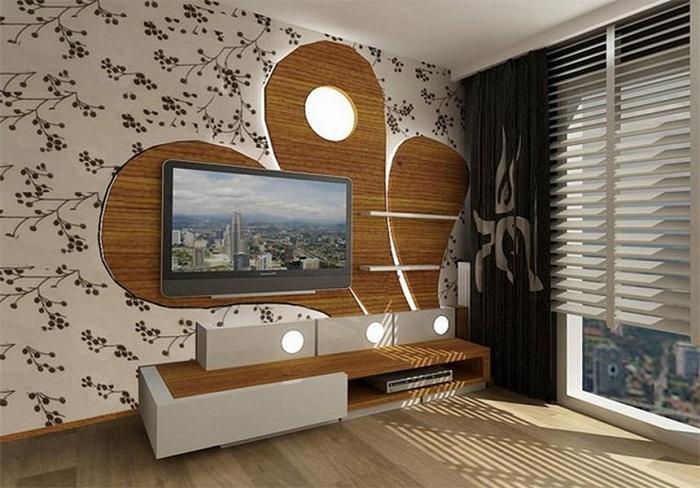 Что может быть лучше создания крутой атмосферы в комнате с телевизором.