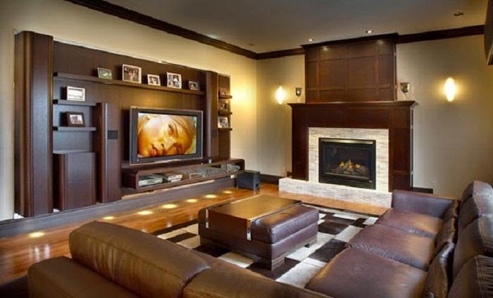 Один из самых лучших вариантом преображения гостиной, что понравится и создаст домашний уют.