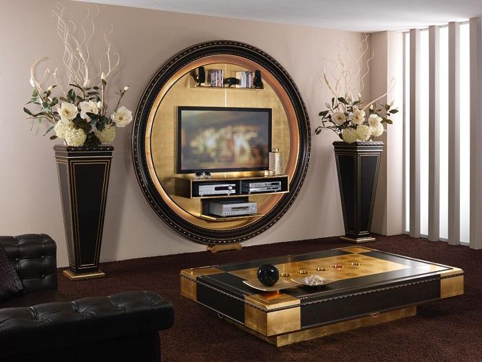 Отличный вариант преобразить интерьер гостиной, что создаст еще одну зону комфорта дома.