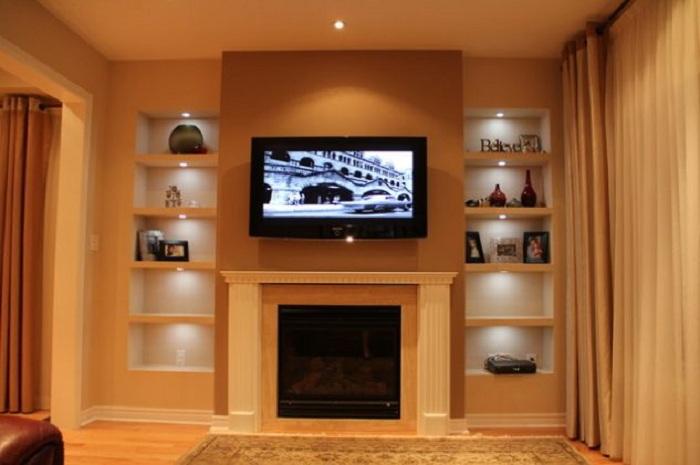 Хороший и практичный вариант оформления стен при помощи гипсокартона, что точно понравятся и вдохновят.