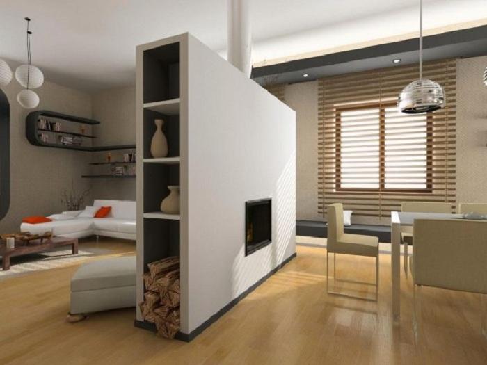 Создание гипсокартонных перегородок позволит создать просто необычные и очень оригинальные решения для декора комнат.