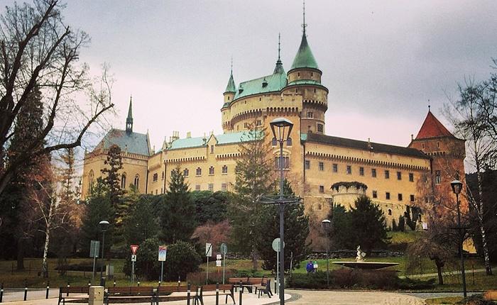 Один из самых старинных городов Словакии, город Бойнице.