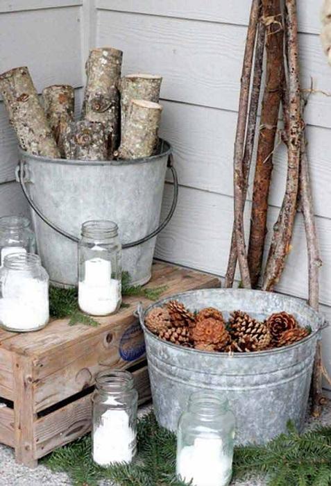 Использование природных элементов для того чтобы создать отличную и нейтральную обстановку при помощи таких текстур.