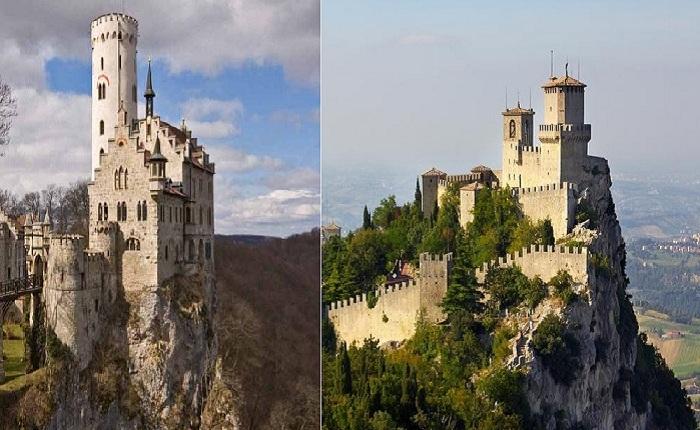 Старинные замки хранители различных историй и своих тайн.