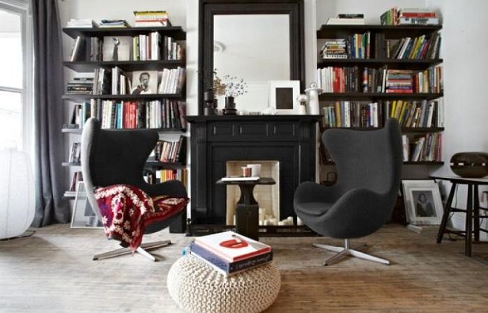 Удобные кресла для чтения книг.