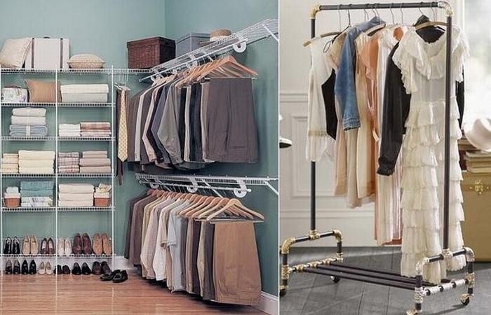 Организация гардероба со вкусом и чувством меры.