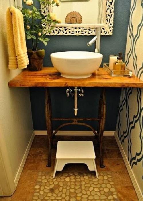 Прекрасный вариант преобразить ванную комнату и оформить её в желто-зеленых тонах, что выглядит потрясающе.