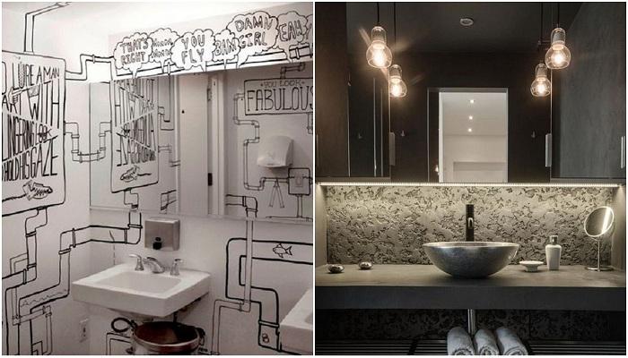 Идеи декорирования ванной комнаты, что вдохновят.
