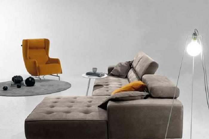 Удивительный современный угловой диван станет изюминкой интерьера.