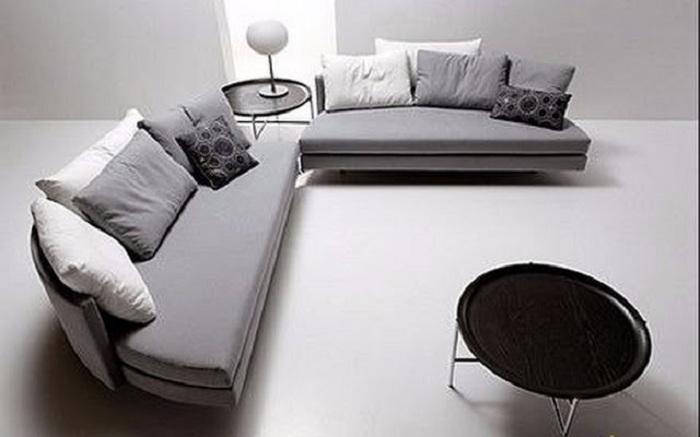 Оригинальный диван-кровать, который с легкостью трансформируется.
