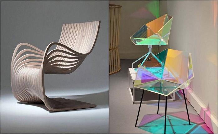 Примеры современной мебели.