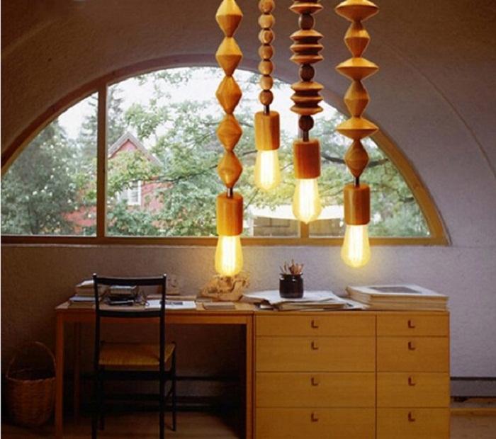 Интересное решение создать такие симпатичные лампы, что вдохнут новую жизнь в дизайне комнаты.