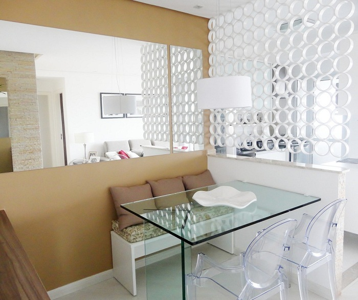 Оптимальная организация пространства кухни и обеденной зоны.