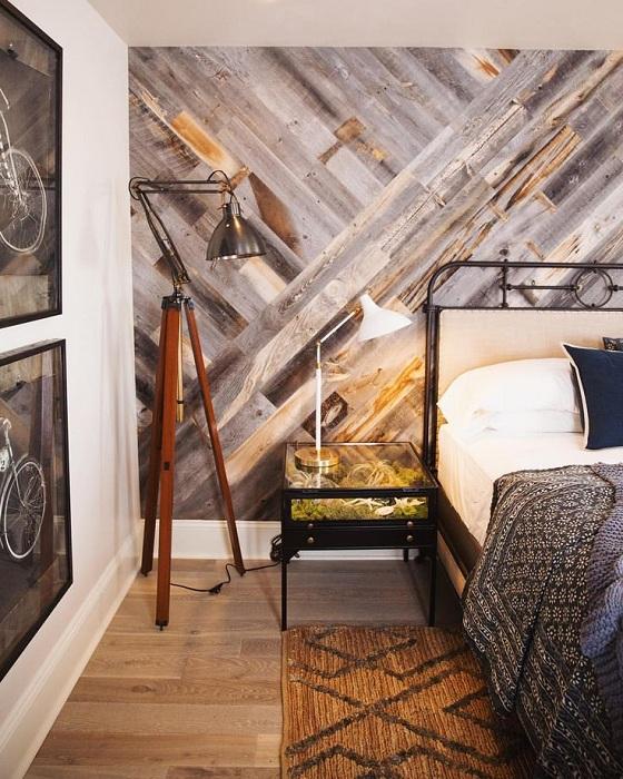 Красивый интерьер спальни, который создаст атмосферу для отдыха.
