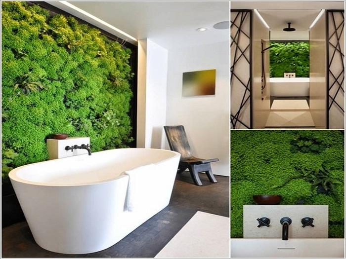 Хороший и весьма яркий декор стены, что стала на много симпатичнее и дополняет общий интерьер.