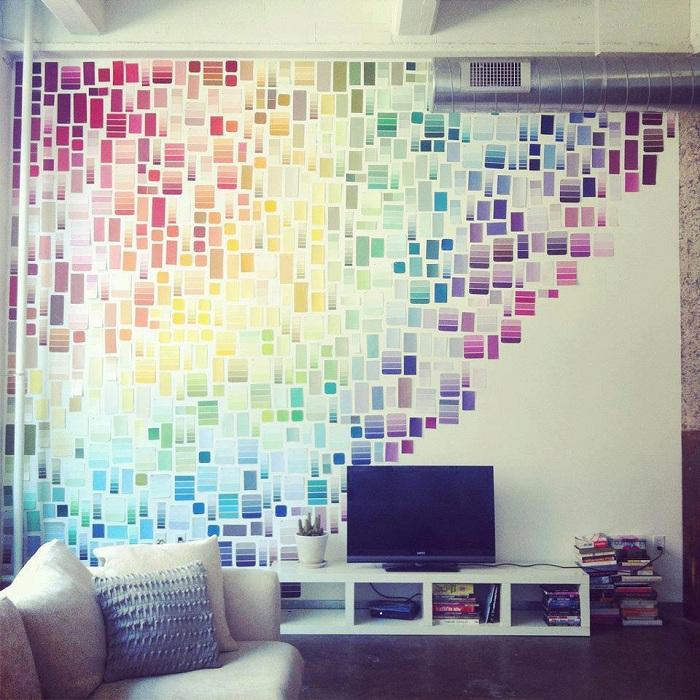 Красивые обои для комнаты возможно создать собственноручно было бы желание.