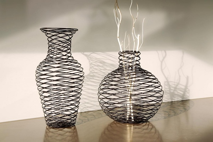 Поделка в виде вазы 16