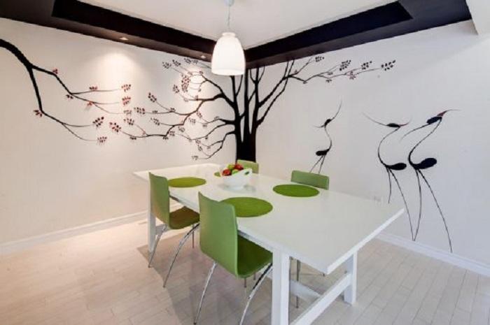 Отменный интерьер комнаты создан благодаря отличному оформлению угла.