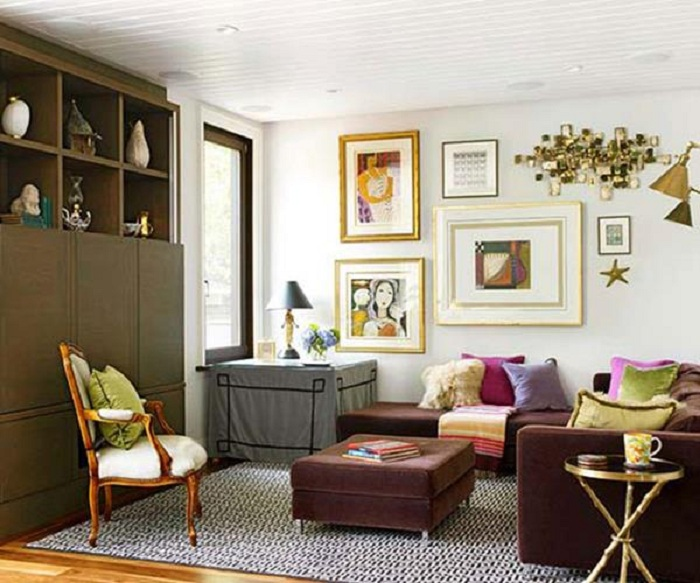 Гостевая комната, что станет просто находкой и станет самым лучшим дизайнерским решением.