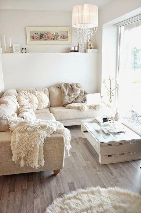 Декорирование гостевой комнаты в пастельных тонах, позволит создать самую непредсказуемую атмосферу.