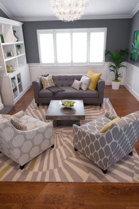 Крутые решения в декорировании гостиной, что вдохновят и понравятся.