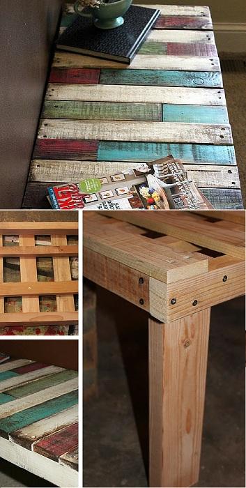 Отличный вариант соорудить стол своими руками, что станет  просто отличным элементом в любом интерьере.