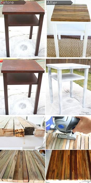 Один из самых прекрасных вариантов - это возможность создать из старой мебели новую, ту которая будет заново радовать и вдохновлять.