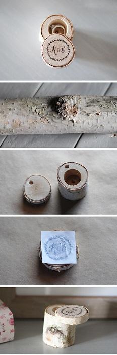 Прекрасный вариант создать шкатулку для хранения колец из дерева, что выглядит очень утонченно.
