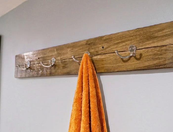 Мелиорирование древесины может быть использовано для того, чтобы сделать полотенцесушитель.