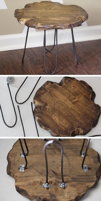 Шикарный стул с ножками-скрепками, который станет просто отличной находкой для создания особенного интерьера.