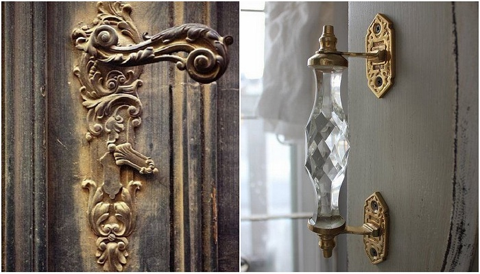 Варианты дизайна дверных ручек, которые просто невероятны.