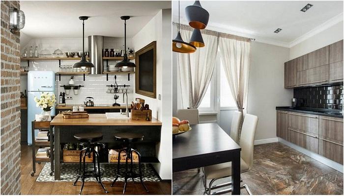 Элегантные идеи для декорирования кухни.