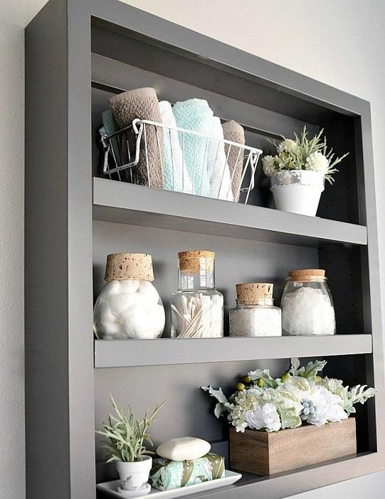 Серый цвет в интерьере для ценителей стиля.