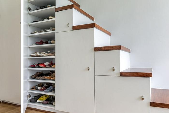 Оптимальное оформления скрытых мест для хранения вещей, то что нужно при планировании комнат для большой семьи.