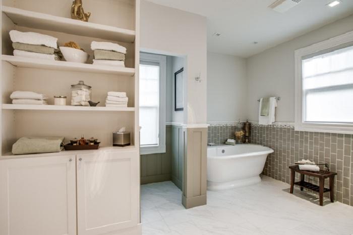 Идеальный интерьер ванной комнаты, который непременно понравится и станет удачным решением.