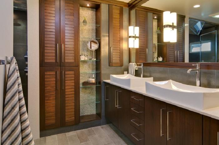 Отличное настроение создано благодаря красивой деревянной обстановке, что выглядит очень красиво и практично.
