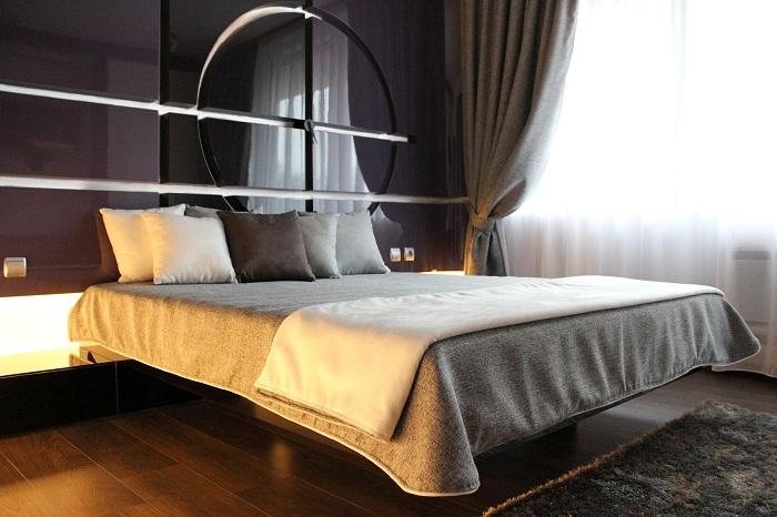 Лучший пример декора комнаты для отдыха в нестандартном стиле.