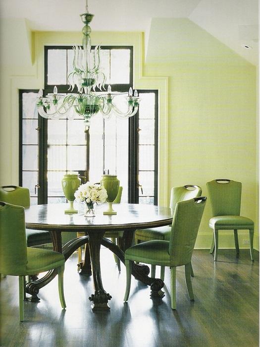 Отличное решение оформить красочно столовую.
