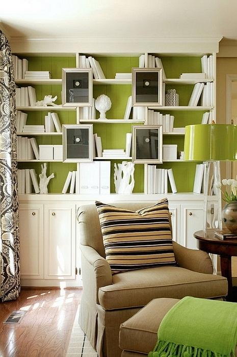 Отличное решение оформить комнату для отдыха оригинально.