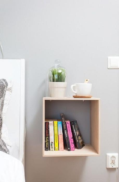 Новости: Гениальные полки: экономия пространства в комнате при помощи простых идей