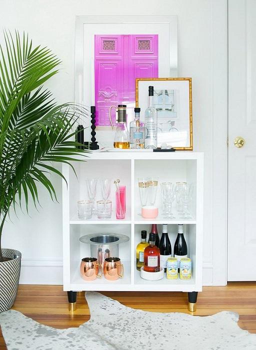 Удачное решение создать отличную тумбу, которая понравится и украсит любой интерьер в любой из комнат.