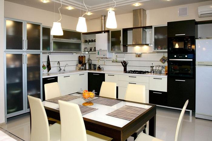 Идеальное решение для больших кухонь.