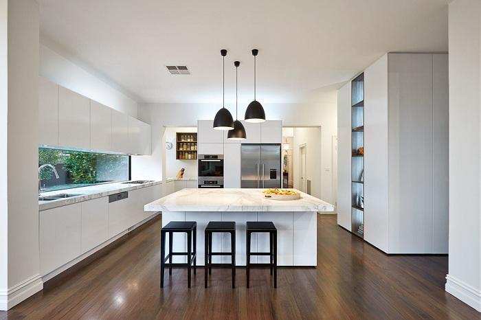 Идеальное классическое решение для современной кухни.