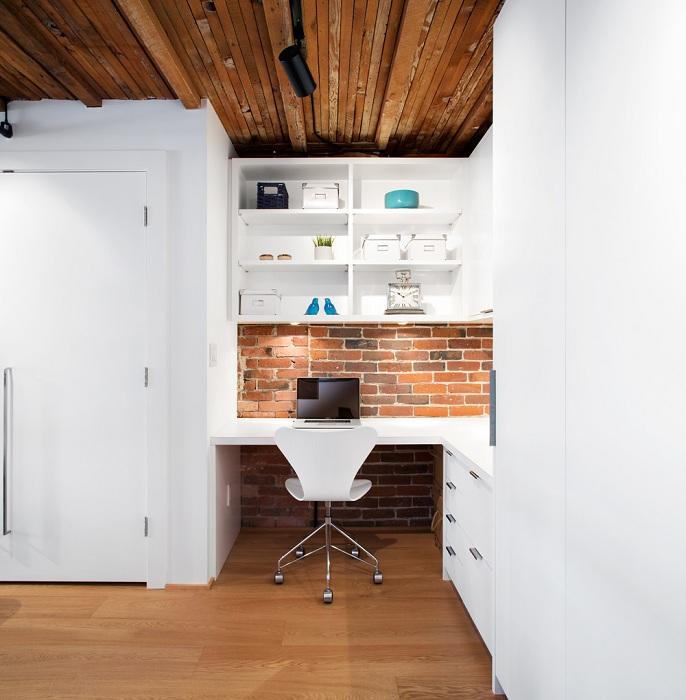 Отлично подобранные цвета при оформлении интерьера - очень важный момент при создании рабочей зоны в доме.
