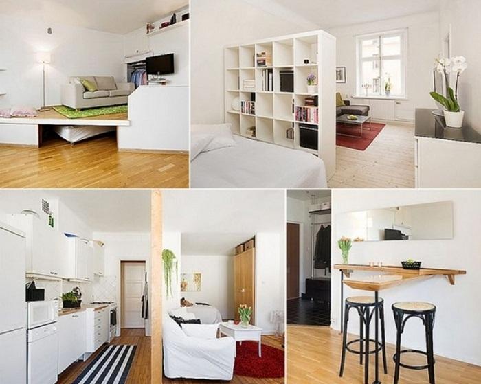Оригинальное и яркое решение для оптимизации пространства в доме.