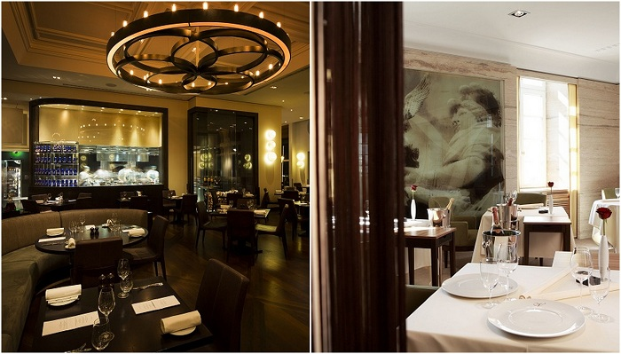 Дизайны интерьеров ресторанов со всего мира.