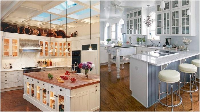 Идеи для кухонных шкафов, которые подойдут для любой кухни.