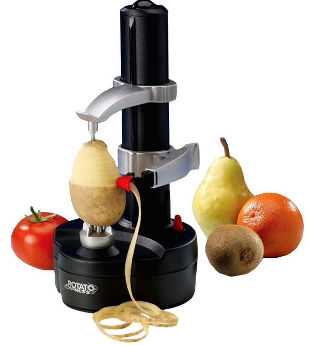 Практичное изобретение для кухни, которое позволит быстро нарезать и почистить овощи и фрукты.